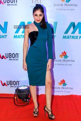 Celebrities At 'Matrix Fight Night' Event