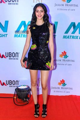 Ananya Pandey At 'Matrix Fight Night' Event