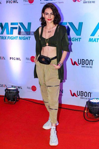 Mandana Karimi At 'Matrix Fight Night' Event