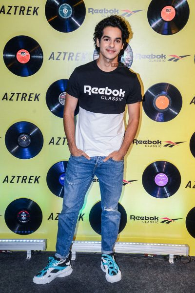 Ishaan Khatter At The Reebok Classic Aztrek Event