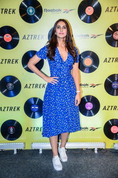 Vaani Kapoor At The Reebok Classic Aztrek Event