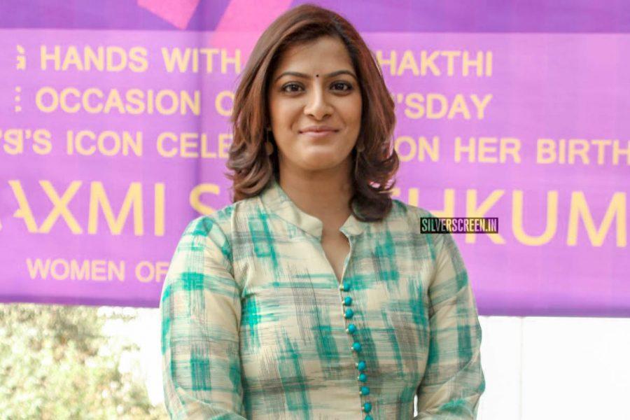 Varalaxmi Sarathkumar Gifts Sanitary Napkin Vending Machines To Schools and Colleges On Her Birthday