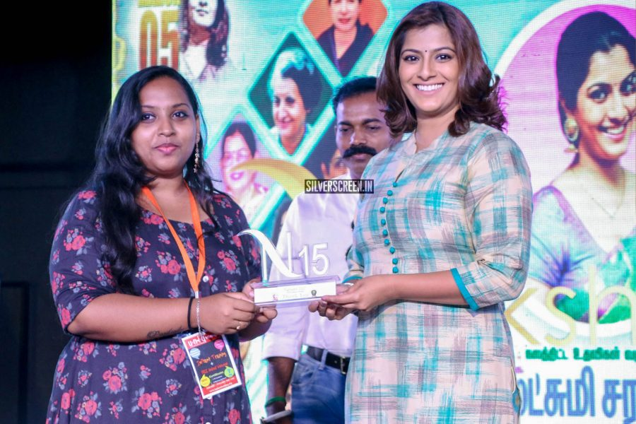 Varalaxmi Sarathkumar Gifts Sanitary Napkin Vending Machines To Schools and Colleges On Her Birthday