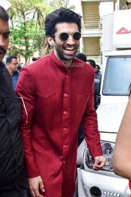 Aditya Roy Kapur At The 'Kalank' Teaser Launch