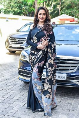 Madhuri Dixit At The 'Kalank' Teaser Launch