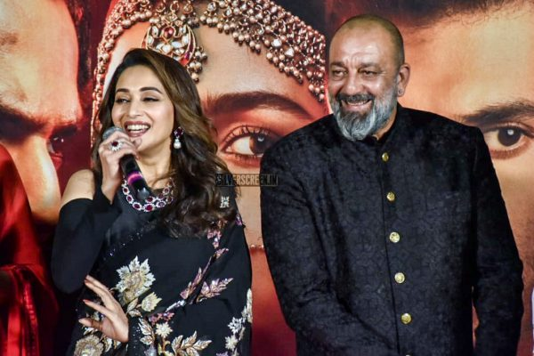 Madhuri Dixit, Sanjay Dutt At The 'Kalank' Teaser Launch