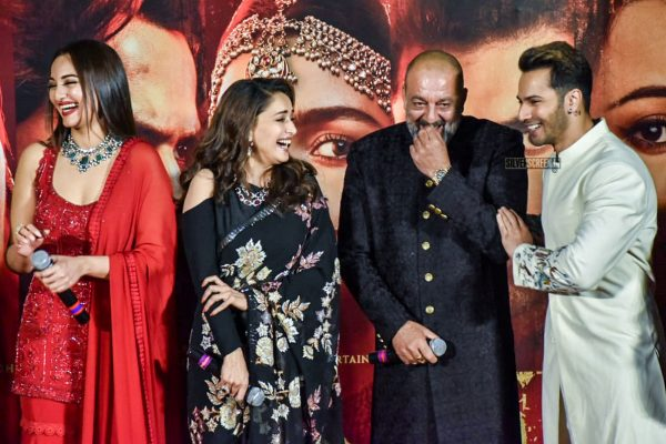Varun Dhawan, Alia Bhatt, Sonakshi Sinha At The 'Kalank' Teaser Launch