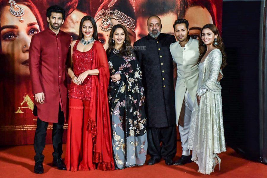 Varun Dhawan, Alia Bhatt, Sonakshi Sinha At The 'Kalank' Teaser Launch