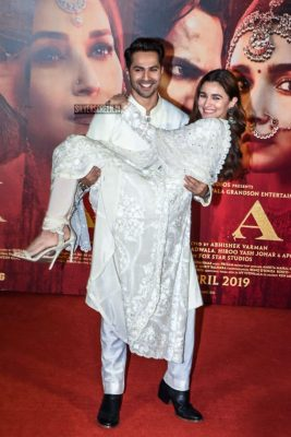 Varun Dhawan, Alia Bhatt At The 'Kalank' Teaser Launch