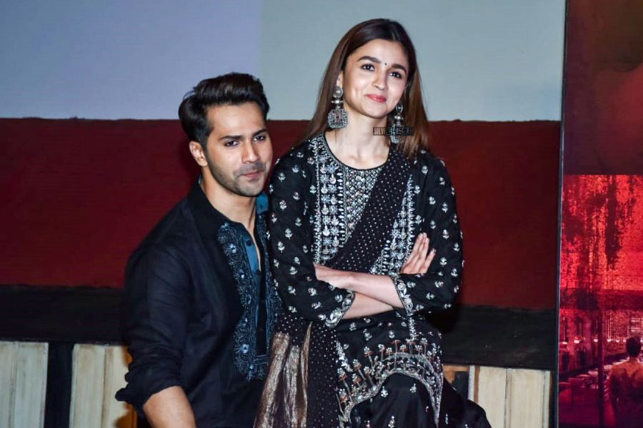 Varun Dhawan And Alia Bhatt At The 'First Class' Song Launch From Kalank