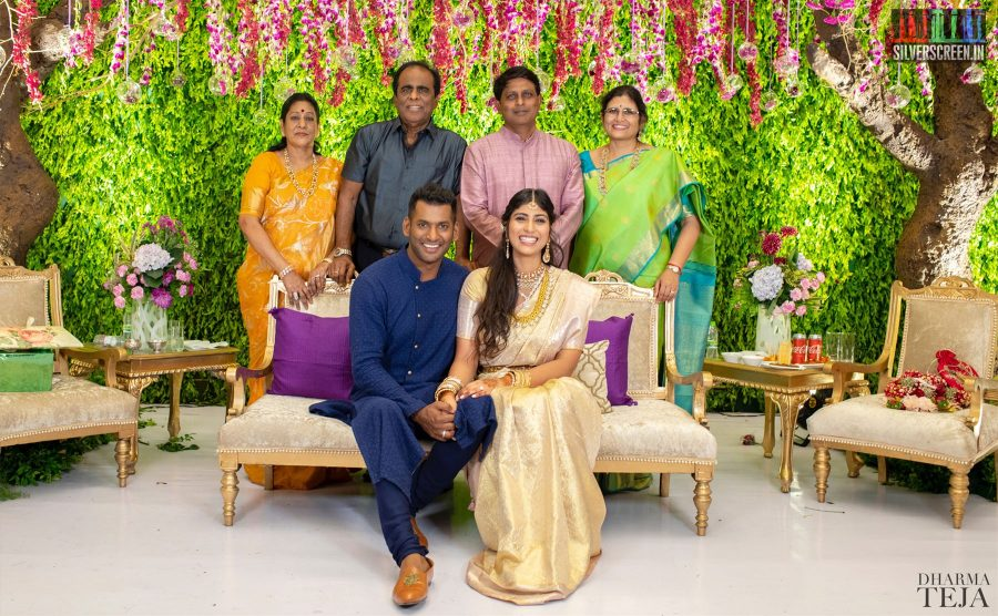 Vishal And Anisha Alla Engagement Photos