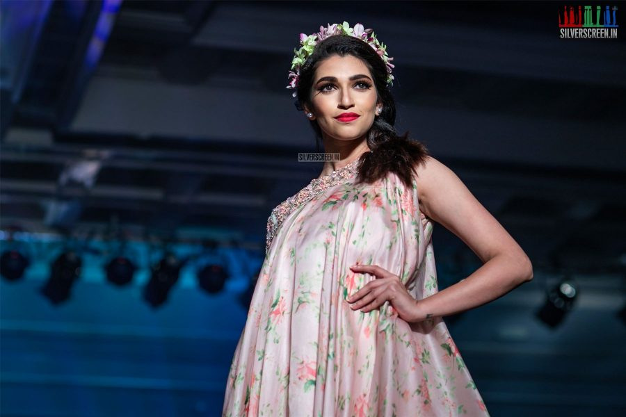 Pearl Sadanand Walks The Ramp At 'Femina Wedding Show'