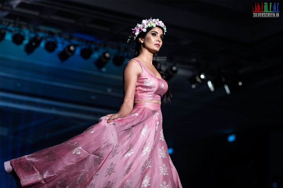 Model Walks The Ramp At 'Femina Wedding Show'