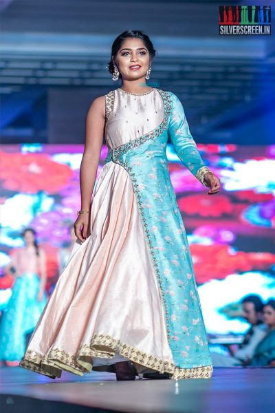 Gouri G Kishan Walks The Ramp At 'Femina Wedding Show'