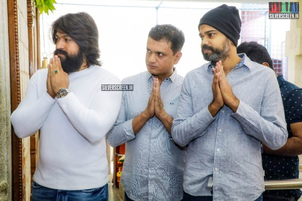 Yash At The 'KGF Chapter 2' Movie Launch