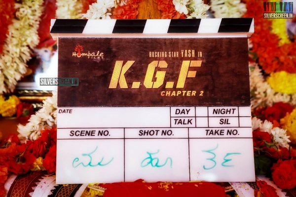 Yash, Srinidhi Shetty At The 'KGF Chapter 2' Movie Launch