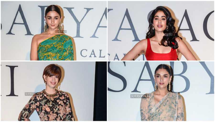 Celebrities At The Sabyasachi And Christian Louboutin Fashion Event