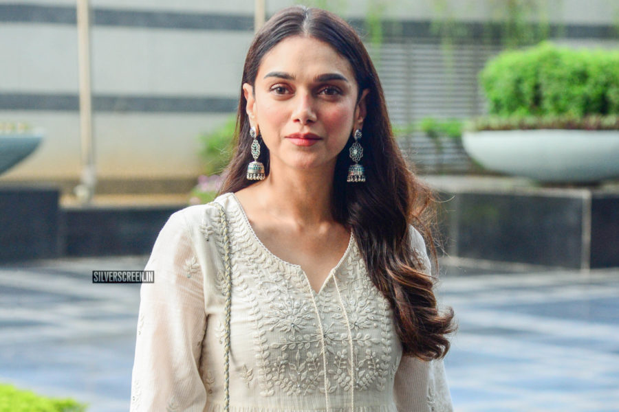 Aditi Rao Hydari At The Closing Ceremony Of Jiyo Exhibition
