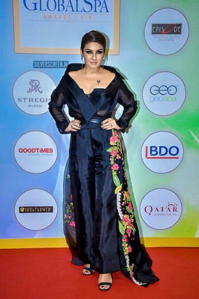 Raveena Tandon At The Geospa Global Spa Awards