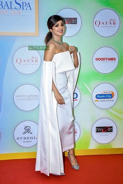 Shilpa Shetty At The Geospa Global Spa Awards