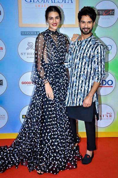 Kriti Sanon, Shahid Kapoor At The Geospa Global Spa Awards