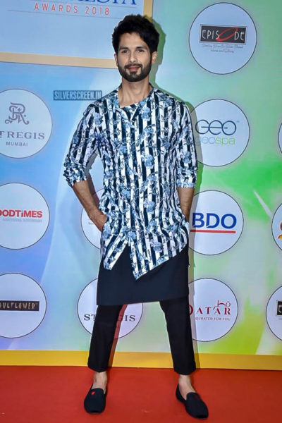 Shahid Kapoor At The Geospa Global Spa Awards