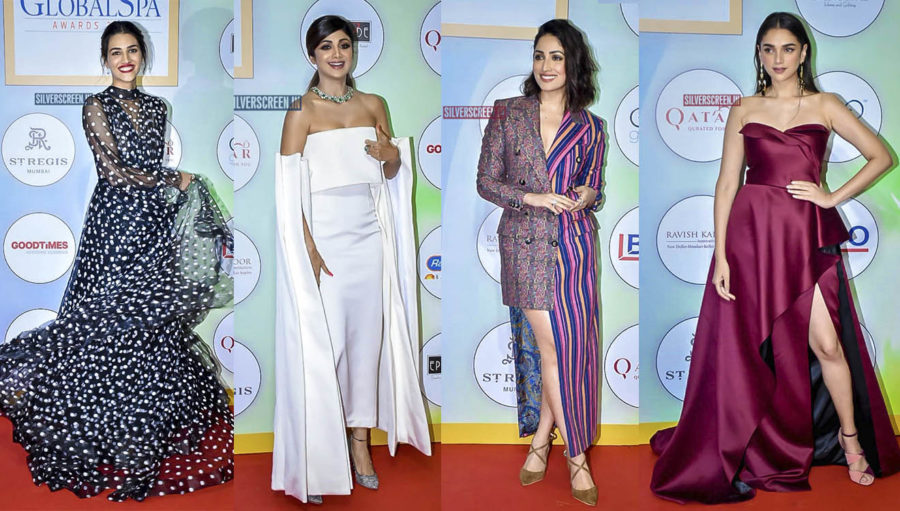 Aditi Rao Hydari, Yami Gautam, Kriti Sanon At The Geospa Global Spa Awards