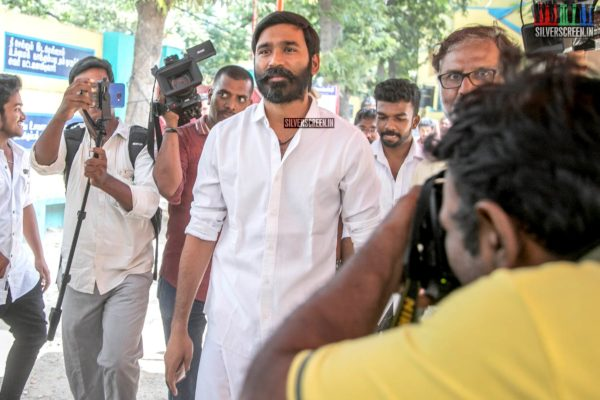 Dhanush Votes In Lok Sabha Elections 2019