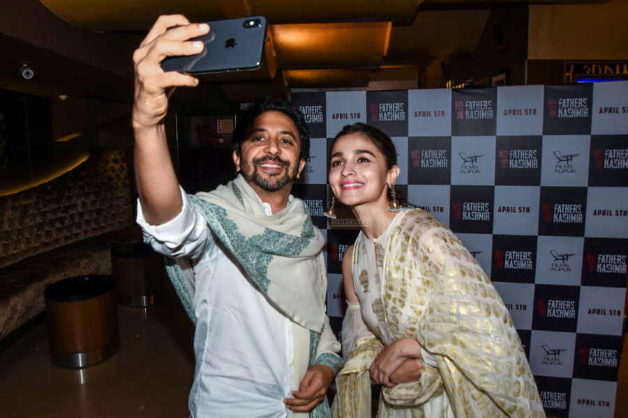 Alia Bhatt At The 'No Fathers In Kashmir' Premiere