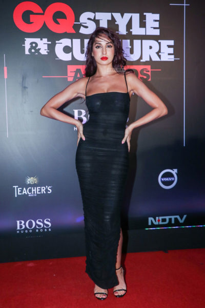 Nora Fatehi At The GQ Style & Culture Awards 2019