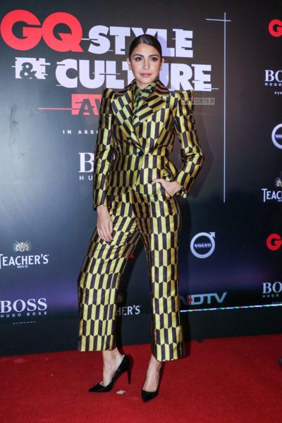 Anushka Sharma At The GQ Style & Culture Awards 2019