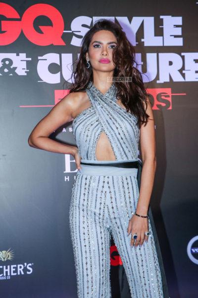 Esha Gupta At The GQ Style & Culture Awards 2019