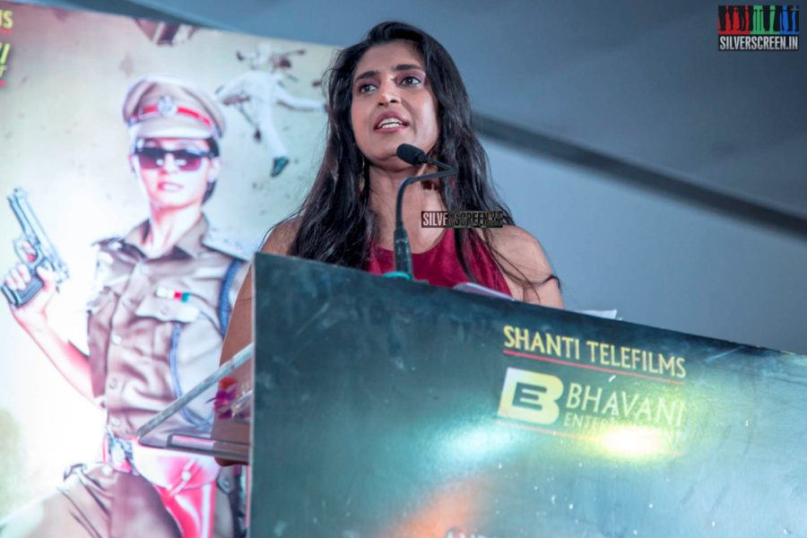 Kasthuri At The 'Maaligai' Teaser Launch