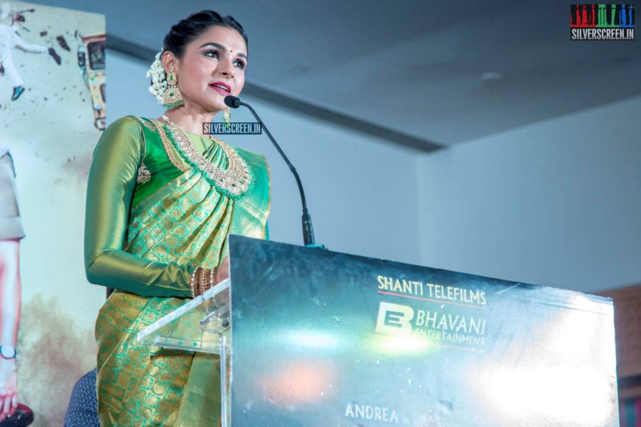 Andrea Jeremiah At The 'Maaligai' Teaser Launch