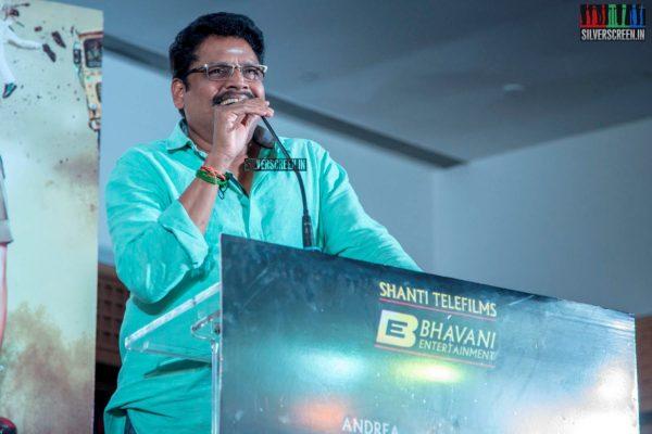KS Ravikumar At The 'Maaligai' Teaser Launch