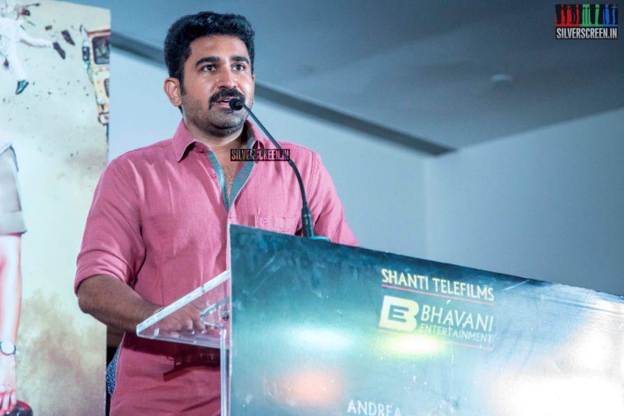 Vijay Antony At The 'Maaligai' Teaser Launch