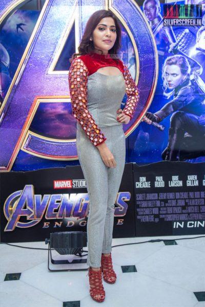 VJ Ramya At The 'Marvel Anthem' Launch