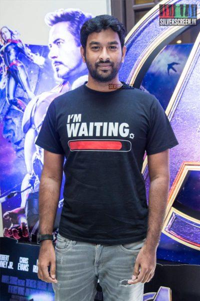 Lyricist Vivek At The 'Marvel Anthem' Launch