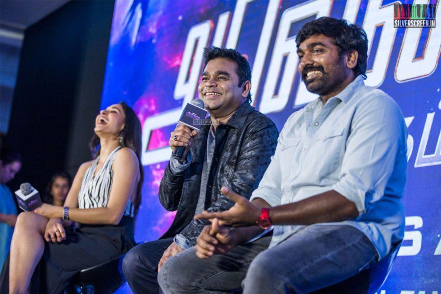 AR Rahman, Vijay Sethupathi At The 'Marvel Anthem' Launch