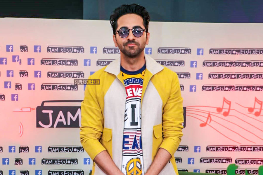 Ayushmann Khurrana At The Launch Of 'Jam Sessions' on Facebook