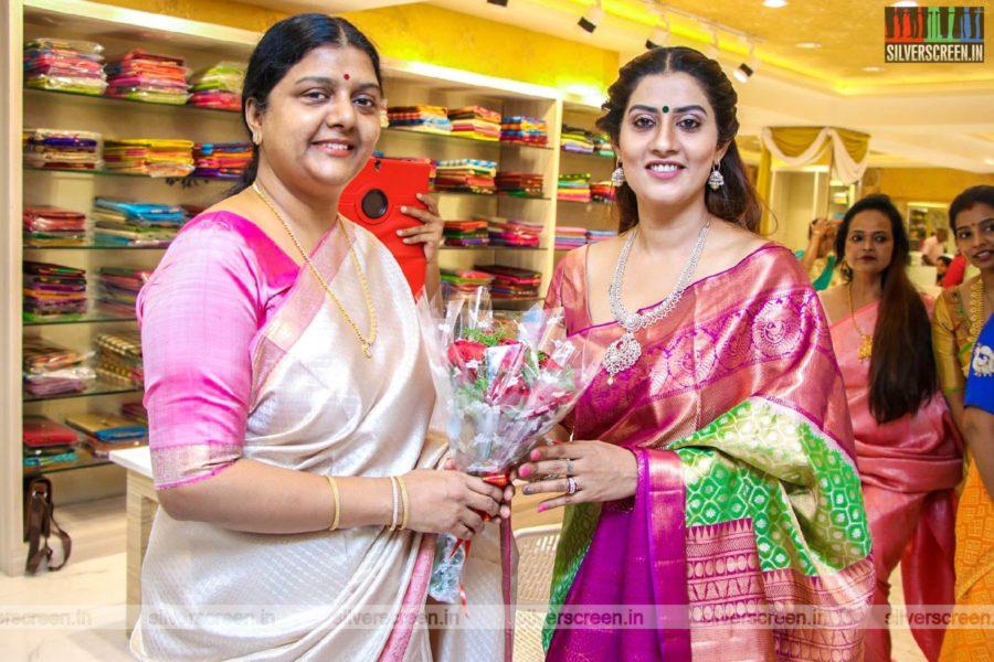 Bhanu Priya At A Store Launch