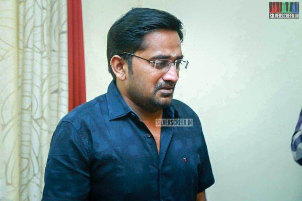 Karunakaran Pays Respect To Director J Mahendran