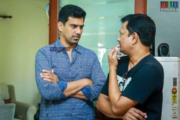 SR Prabhu Pays Respect To Director J Mahendran