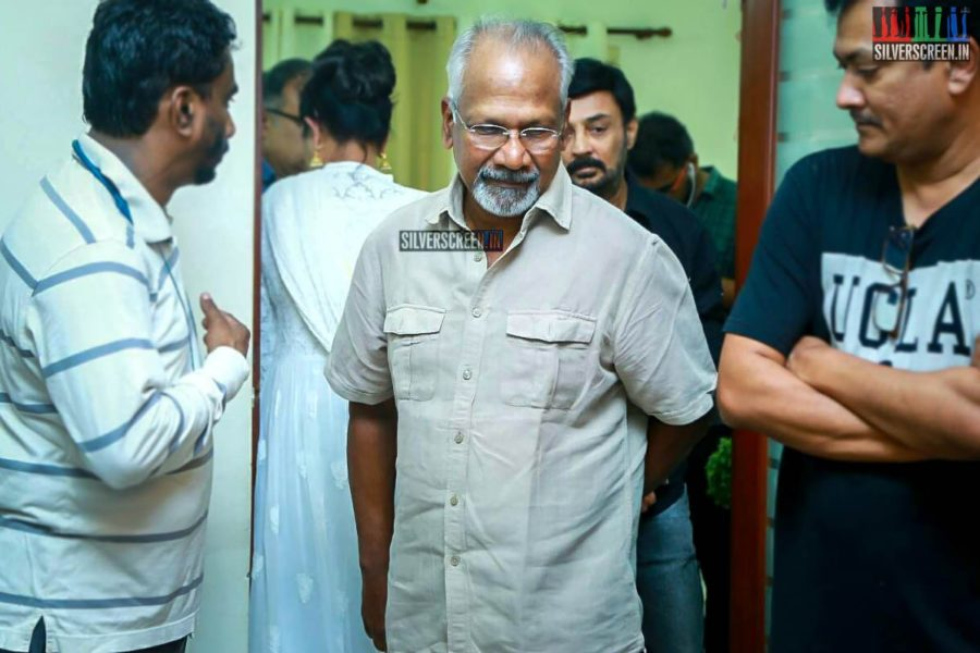 Mani Ratnam Pays Respect To Director J Mahendran
