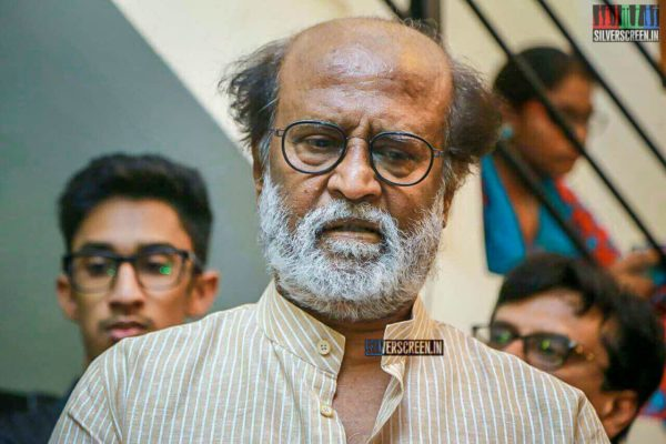 Rajinikanth Pays Respect To Director J Mahendran