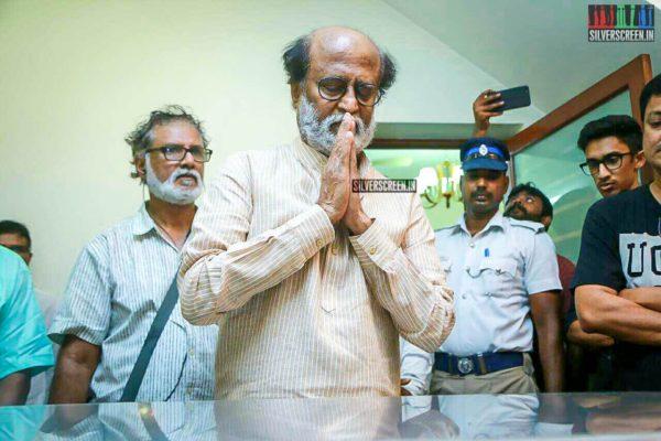 Rajinikanth Pays Respect To Director J Mahendran