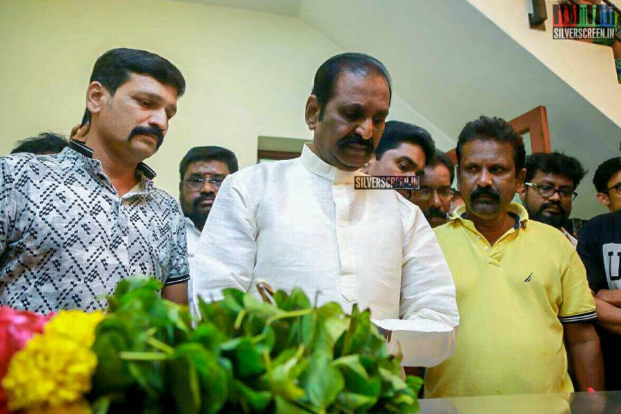 Vairamuthu Pays Respect To Director J Mahendran