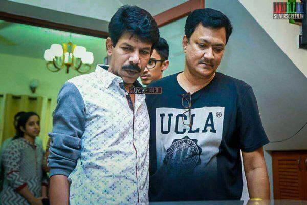 Bala Pays Respect To Director J Mahendran