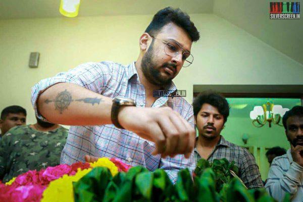 Dhayanidhi Alagiri Pays Respect To Director J Mahendran