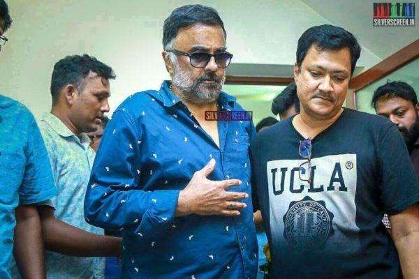 PC Sreeram Pays Respect To Director J Mahendran
